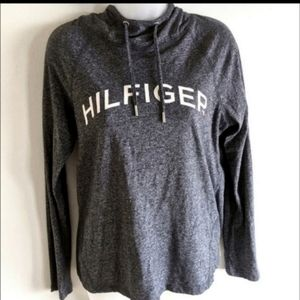 Tommy Hilfiger NEW sports hooded pullover blouse S